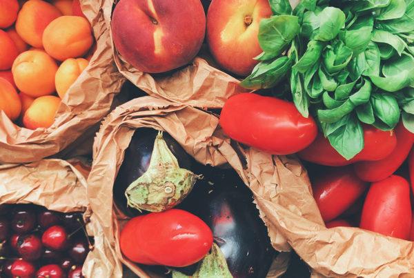 El frío mejor con frutas y verduras de temporada.