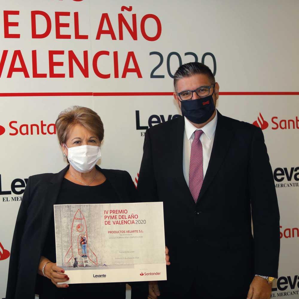 IV Premio Pyme 2020 Valencia Velarte