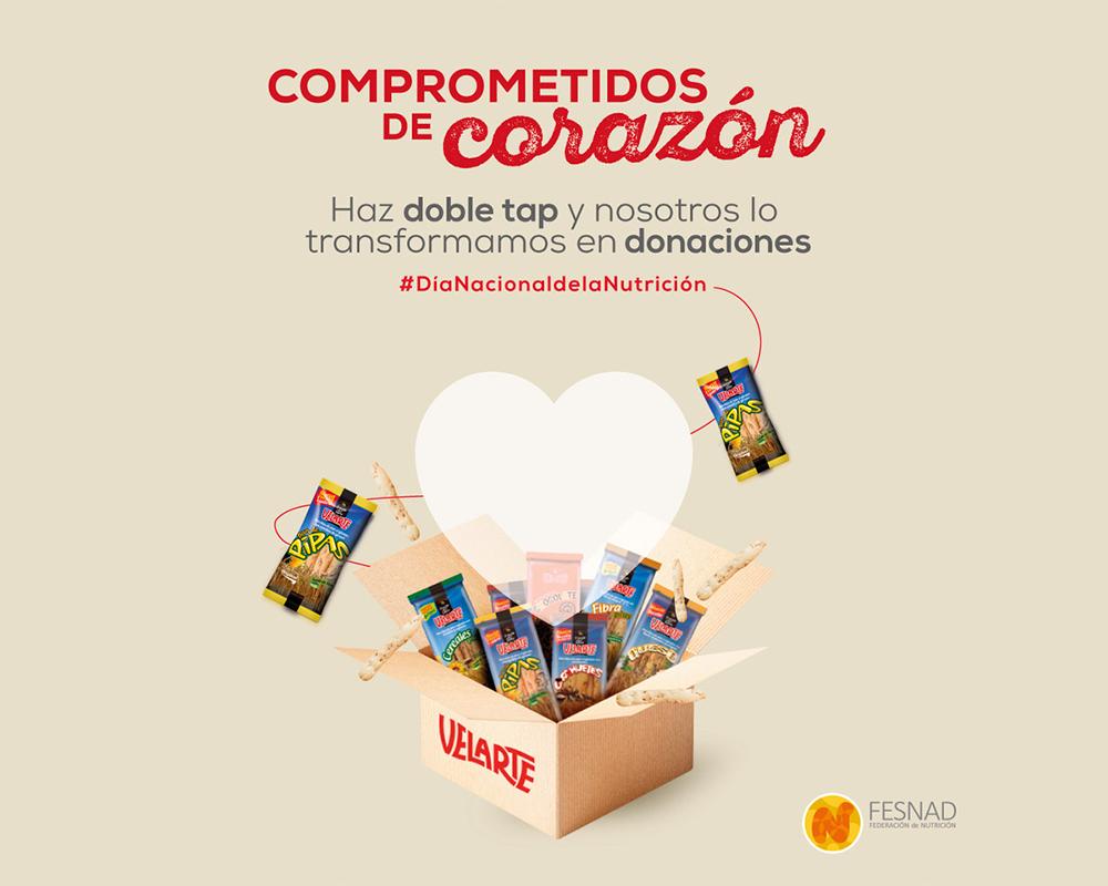 Dia Nacional Nutricion Velarte Donaciones
